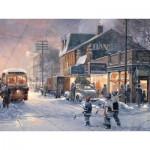 Puzzle  Cobble-Hill-54341 Pièces XXL - Douglas Laird : Nuit de Hockey