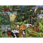 Puzzle  Cobble-Hill-54565 Le rassemblement de Noé