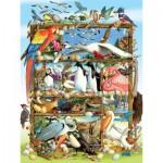 Puzzle  Cobble-Hill-54581 Laura L Seeley : Oiseaux du Monde