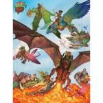 Puzzle  Cobble-Hill-54593 Pièces XXL - Dragon Flight