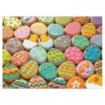 Puzzle  Cobble-Hill-54600 Pièces XXL - Family - Easter Cookies