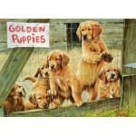 Puzzle  Cobble-Hill-57152 Chiots Golden
