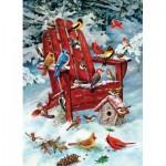 Puzzle  Cobble-Hill-70031 Greg Giordano : Les Oiseaux d'Adirondack