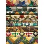 Puzzle  Cobble-Hill-70032 Les Edredons de Grand Mère