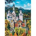 Puzzle  Cobble-Hill-70036 Allemagne : Château de Neuschwanstein