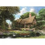 Puzzle  Jumbo-11017 Around Britain - Riverbank Cottage, Derbyshire