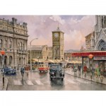Puzzle  Jumbo-11049 2 x 1000 Pièces - hopping Days by John Chapman