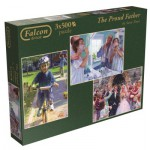 Jumbo-11058 3 Puzzles - Steve Noon : The Proud Father