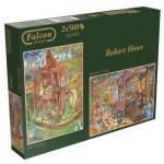 Jumbo-11098 2 Puzzles - Robert Howe