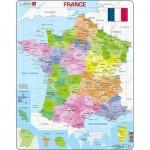 Larsen-A5-FR Puzzle Cadre - Carte de France
