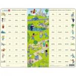 Larsen-EN11 Puzzle Cadre - Apprendre l'Anglais 11 : Les Verbes irréguliers (en Anglais)