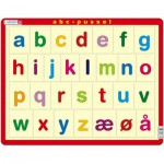 Larsen-LS33 Puzzle Cadre - Alfabetet (små bokstaver) (en Norvégien)