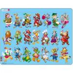 Larsen-NM5 Puzzle Cadre - Animaux des Enfants