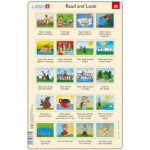 Larsen-RA13-25 Puzzle Cadre - Apprendre l'Anglais : Read and Look 25 (en Anglais)
