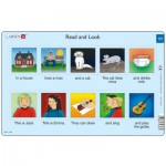 Larsen-RA6-11 Puzzle Cadre - Apprendre l'Anglais : Read and Look 11 (en Anglais)