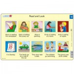 Larsen-RA8-16 Puzzle Cadre - Apprendre l'Anglais : Read and Look 16 (en Anglais)