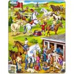 Larsen-US26 Puzzle Cadre - Au Centre Equestre