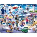 Larsen-US27 Puzzle Cadre - Aéroport