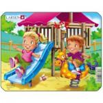 Larsen-Z10-4 Puzzle Cadre - Jeux d'enfants