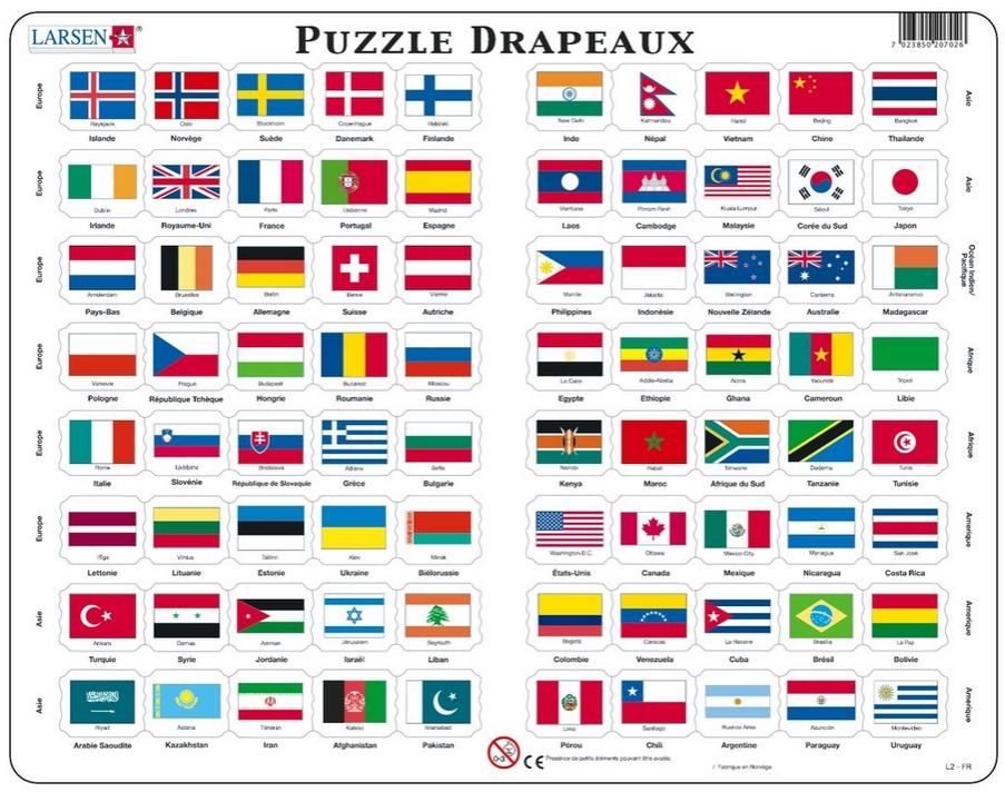 Флагами стран
