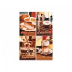 Puzzle  Noris-6060-38019 4 x 200 Pièces - Café