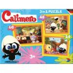 Noris-6060-38022 3 Puzzles - Caliméro