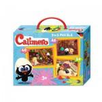 Noris-6060-38023 3 Puzzles - Caliméro