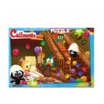 Puzzle  Noris-6060-38061 Caliméro
