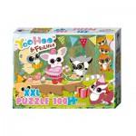 Puzzle  Noris-606031160 Pièces XXL - Yoohoo & Friends