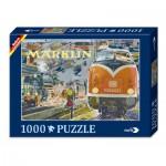 Puzzle  Noris-606031333 Märklin Nostalgie