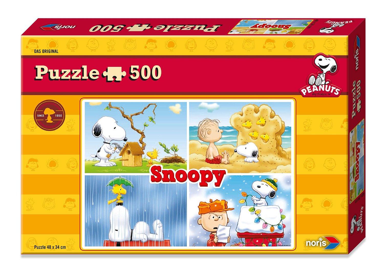 peanuts snoopy 500 teile noris puzzle acheter en ligne. Black Bedroom Furniture Sets. Home Design Ideas