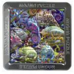 Piatnik-02120 Magna Puzzle - Caméléon