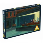 Puzzle  Piatnik-5384 Hopper Edward : Nightawks