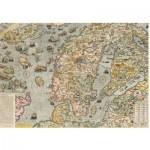 Puzzle  Piatnik-5456 Carte Marine