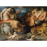 Puzzle  Piatnik-5476 Rubens - Les Quatre Continents, 1614