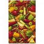 Puzzle  Piatnik-5648 Poivrons et piments