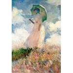 Puzzle  Grafika-Kids-00092 Claude Monet : La Femme à l'Ombrelle, 1875