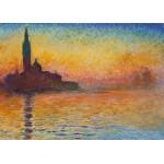 Puzzle  Grafika-Kids-00096 Claude Monet : Saint-Georges-Majeur au Crépuscule, 1908