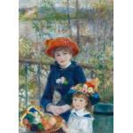 Puzzle  Grafika-Kids-00165 Auguste Renoir : Deux Soeurs sur la Terrasse, 1881