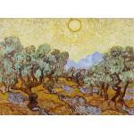Puzzle  Grafika-Kids-00339 Vincent Van Gogh : Les Oliviers, 1889