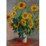 Puzzle  Grafika-Kids-00459 Pièces Magnétiques - Claude Monet: Bouquet de Tournesols, 1881