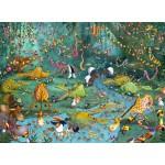 Puzzle  Grafika-Kids-00802 François Ruyer : La Jungle