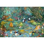 Puzzle  Grafika-Kids-00803 François Ruyer : La Jungle