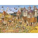 Puzzle  Grafika-Kids-00813 François Ruyer: Le Château des Lapins