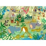 Puzzle  Grafika-Kids-00870 François Ruyer : Jungle