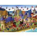 Puzzle  Grafika-Kids-00879 François Ruyer: Sorcières