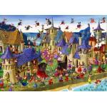Puzzle  Grafika-Kids-00881 François Ruyer: Sorcières