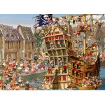 Puzzle  Grafika-Kids-00899 François Ruyer: Pirates