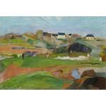 Puzzle  Grafika-Kids-01308 Paul Gauguin : Paysage à Pouldu, 1890
