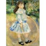Puzzle  Grafika-Kids-01316 Auguste Renoir : Fillette au cerceau, 1885